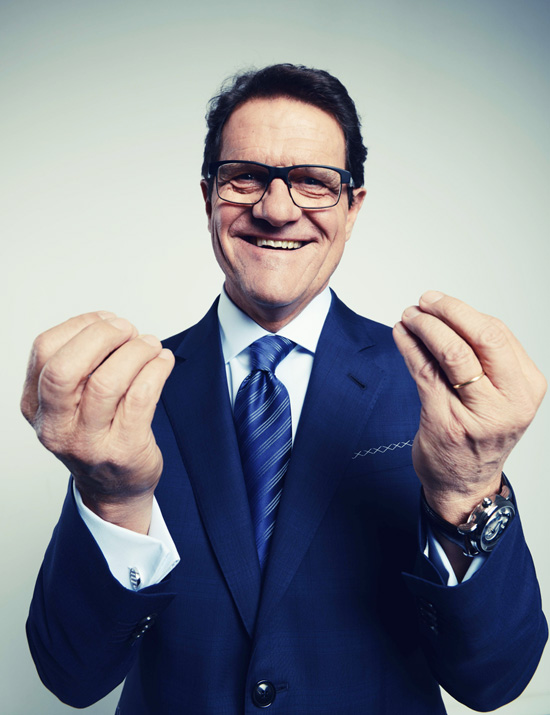 Fabio Capello for Vogue