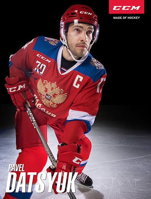 Pavel datsyuk For CCM Campaign