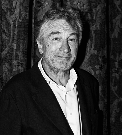 ROBERT DENIRO FOR TATLER