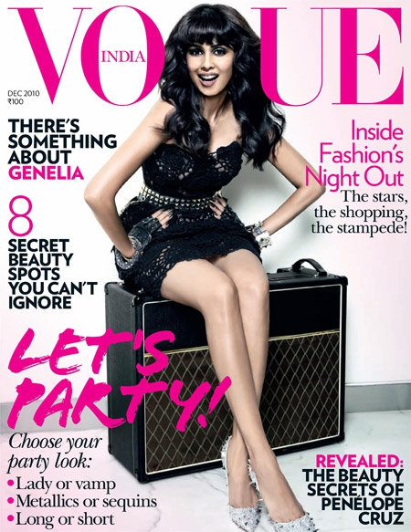 GENELIA D SOUZA FOR VOGUE